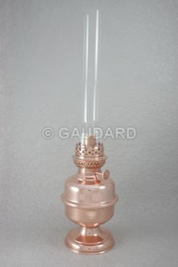Lampe A Pied Cuivre Rouge