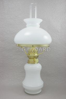 pot opale blanc avec abat jour